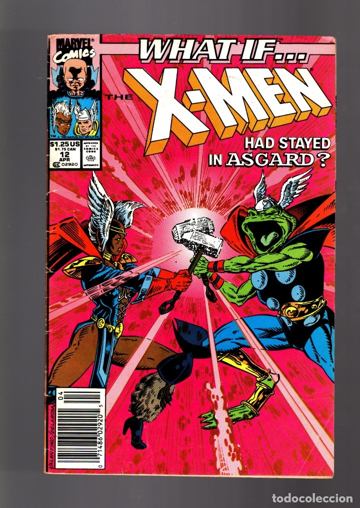 WHAT IF 12 THE X-MEN HAD STAYED IN ASGARD ? - MARVEL 1990 VG (Tebeos y Comics - Comics Lengua Extranjera - Comics USA)