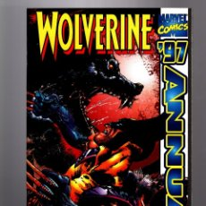 Cómics: WOLVERINE ANNUAL 3 - MARVEL 1997 VFN/NM WRAPAROUND COVER. Lote 182755725