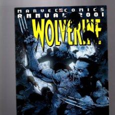 Cómics: WOLVERINE ANNUAL 6 - MARVEL 2001 VFN/NM . Lote 182756106