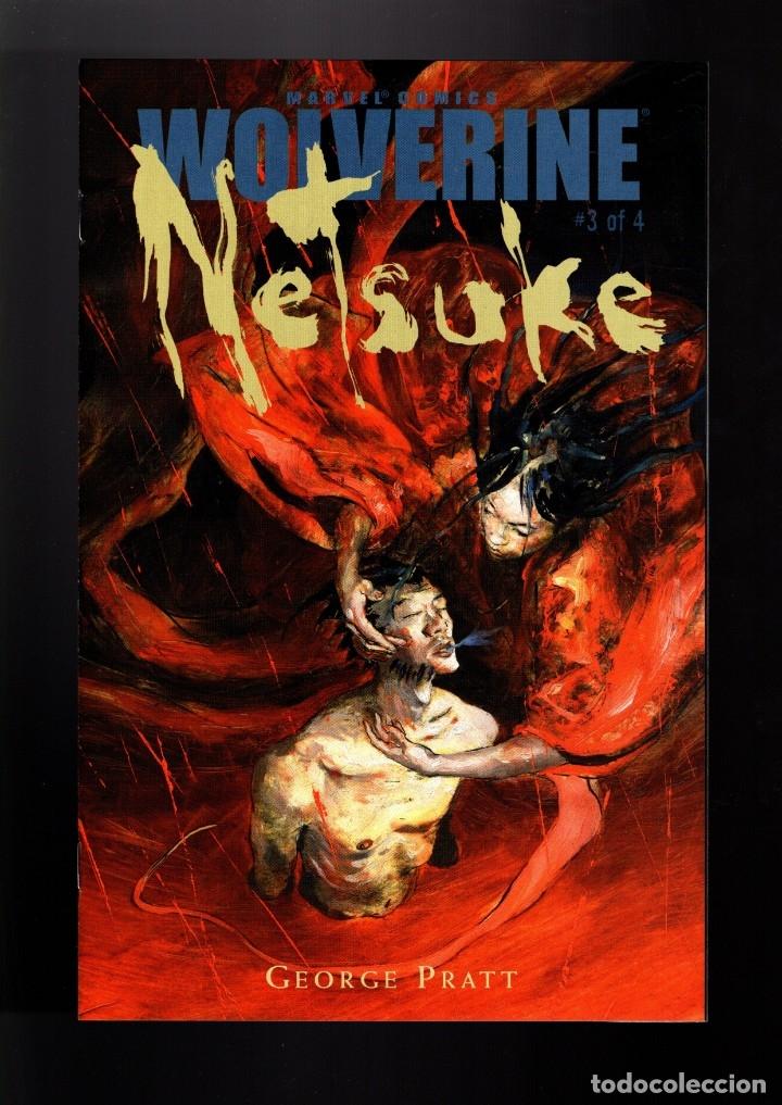 WOLVERINE NETSUKE 3 - MARVEL 2002 VFN/NM / GEORGE PRATT (Tebeos y Comics - Comics Lengua Extranjera - Comics USA)