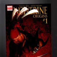 Cómics: WOLVERINE ORIGINS 1 - MARVEL 2006 VFN/NM VARIANT COVER / WAY & DILLON. Lote 182821607