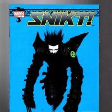 Cómics: WOLVERINE SNIKT 2 - MARVEL 2003 VFN/NM / TSUTOMU NIHEI. Lote 182823447