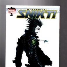 Cómics: WOLVERINE SNIKT 3 - MARVEL 2003 VFN/NM / TSUTOMU NIHEI. Lote 182823535
