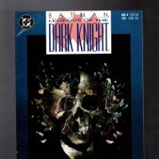 Cómics: BATMAN LEGENDS OF THE DARK KNIGHT 4 - DC 1990 VFN- / SHAMAN / O'NEIL & HANNIGAN. Lote 183257725