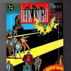 Cómics: BATMAN LEGENDS OF THE DARK KNIGHT 7 - DC 1990 VFN+ / GOTHIC / GRANT MORRISON & KLAUS JANSON. Lote 183258601