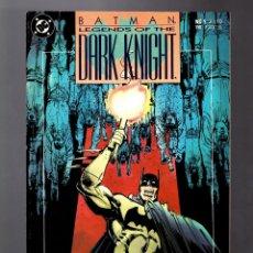 Cómics: BATMAN LEGENDS OF THE DARK KNIGHT 9 - DC 1990 VFN / GOTHIC / GRANT MORRISON & KLAUS JANSON. Lote 183258953