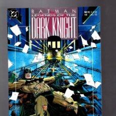 Cómics: BATMAN LEGENDS OF THE DARK KNIGHT 10 - DC 1990 VFN / GOTHIC / GRANT MORRISON & KLAUS JANSON. Lote 183259117