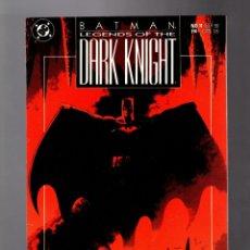 Cómics: BATMAN LEGENDS OF THE DARK KNIGHT 11 - DC 1990 VFN+ / PREY / DOUG MOENCH & PAUL GULACY. Lote 183259372