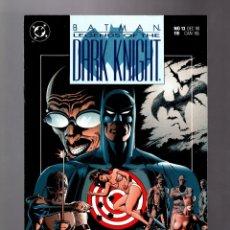 Cómics: BATMAN LEGENDS OF THE DARK KNIGHT 13 - DC 1990 VFN / PREY / DOUG MOENCH & PAUL GULACY. Lote 183259755