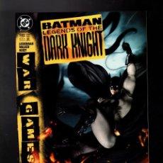 Cómics: BATMAN LEGENDS OF THE DARK KNIGHT 182 - DC 2004 VFN / WAR GAMES / LIEBERMAN & WALKER. Lote 183404116