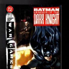 Cómics: BATMAN LEGENDS OF THE DARK KNIGHT 183 - DC 2004 VFN / WAR GAMES / LIEBERMAN & WALKER. Lote 183404870