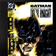 Cómics: BATMAN LEGENDS OF THE DARK KNIGHT 184 - DC 2004 VFN / WAR GAMES / HORROCKS & WALKER. Lote 183405040