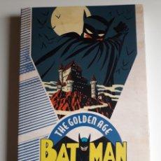 Cómics: BATMAN. THE GOLDEN AGE. VOLUMEN 1 420PAG. NUEVO. Lote 183541371