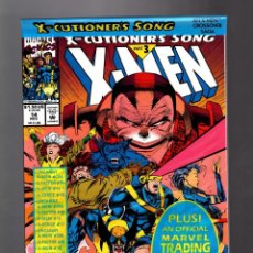 Comics : X-MEN 14 - MARVEL 1992 NM / X-CUTIONERS SONG / BOLSA SIN ABRIR CON TRADING CARD. Lote 216763335