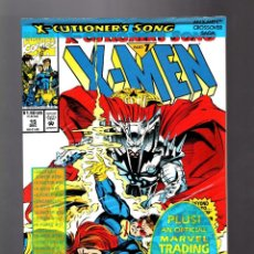 Comics : X-MEN 15 - MARVEL 1992 NM / X-CUTIONER'S SONG / BOLSA SIN ABRIR CON TRADING CARD. Lote 216763563