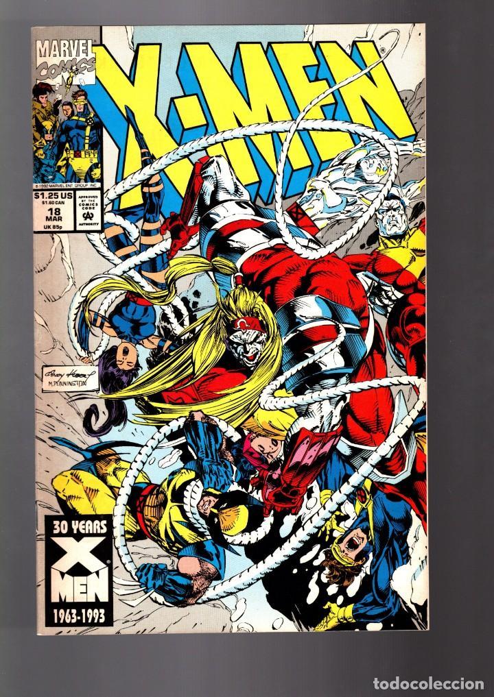 X-MEN 18 - MARVEL 1993 VFN- / NICIEZA & KUBERT (Tebeos y Comics - Comics Lengua Extranjera - Comics USA)