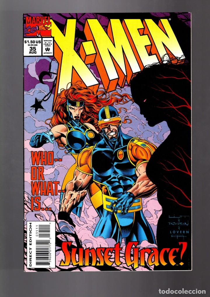 X-MEN 35 - MARVEL 1994 VFN/NM (Tebeos y Comics - Comics Lengua Extranjera - Comics USA)
