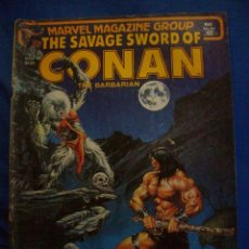 Cómics: THE SAVAGE SWORD OF CONAN THE BARBARIAN Nº 64 MAY 1981 A MARVEL MAGAZINE. Lote 184025020