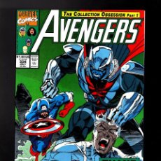 Cómics: AVENGERS 334 - MARVEL 1991 VFN/NM / COLLECTION OBSESSION / INHUMANS / ANDY KUBERT. Lote 184688302