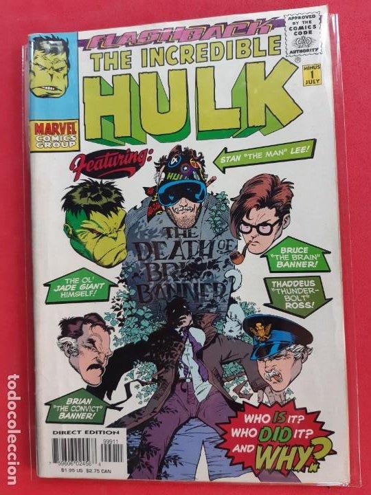 THE INCREDIBLE HULK MARVEL COMICS GROUP DIFICIL (Tebeos y Comics - Comics Lengua Extranjera - Comics USA)