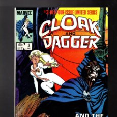 Cómics: CLOAK AND DAGGER 3 - MARVEL 1983 VFN- / PRIMERA LIMITED SERIE / MANTLO & RICK LEONARDI. Lote 185691230