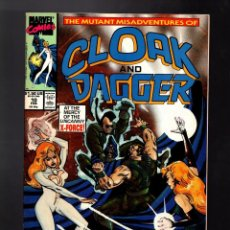 Cómics: CLOAK AND DAGGER 10 - MARVEL 1990 VFN+ / X-FORCE. Lote 185691965