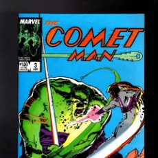 Cómics: COMET MAN 3 - MARVEL 1987 VFN/NM / VS HULK / BILL SIENKIEWICZ COVER. Lote 185694012
