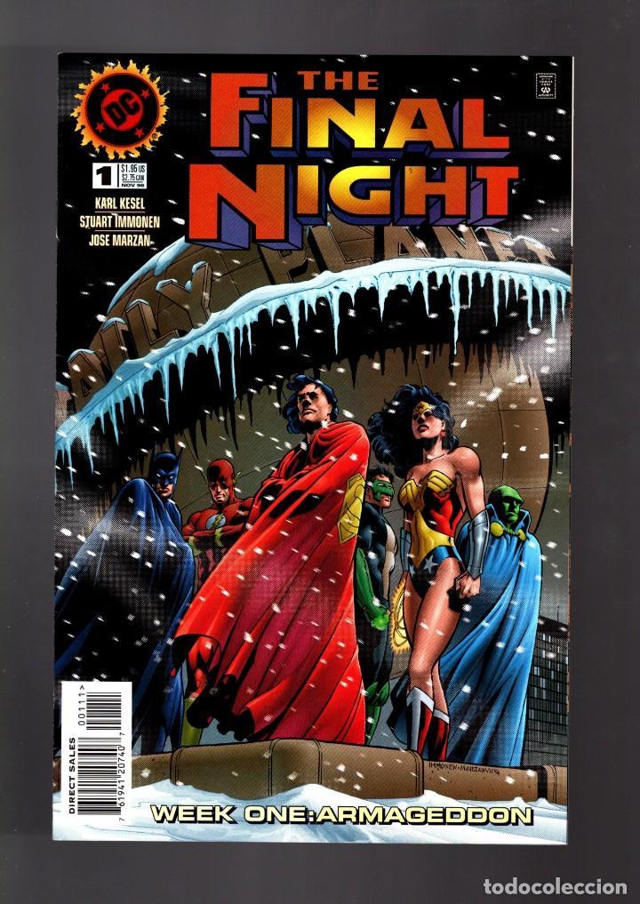 FINAL NIGHT 1 2 3 4 COMPLETA + SPECIAL PARALLAX - DC 1996 VFN / KESEL & IMMONEN / JLA (Tebeos y Comics - Comics Lengua Extranjera - Comics USA)