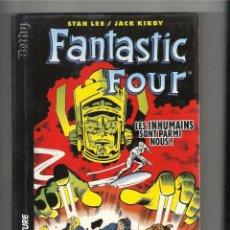 Cómics: JACK KIRBY Y STAN LEE. FANTASTIC FOUR. LES INHUMAINS SONT PARMI NOUS! MARVEL FRANCE.. Lote 186227995