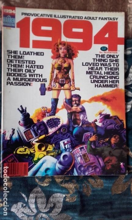 1994 PROVOCATIVE ILLUSTRATED ADULT FANTASY NÚMERO 17, WARREN MAGAZINE (Tebeos y Comics - Comics Lengua Extranjera - Comics USA)