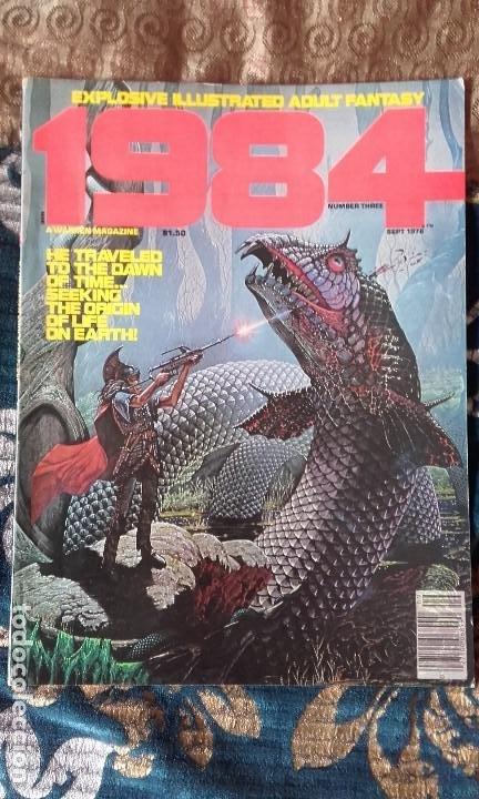 1984 PROVOCATIVE ILLUSTRATED ADULT FANTASY NÚMERO 3, WARREN MAGAZINE (Tebeos y Comics - Comics Lengua Extranjera - Comics USA)