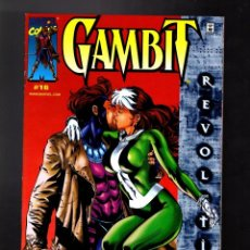Cómics: GAMBIT 16 - MARVEL 2000 NM / NICIEZA & PAQUETTE / ROGUE KISS COVER. Lote 186299942