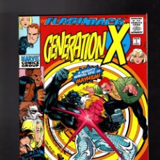 Cómics: GENERATION-X -1 FLASHBACK - MARVEL 1997 VFN/NM / STAN LEE APPEARANCE. Lote 186301118