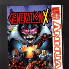 Cómics: GENERATION-X ANNUAL 3 - MARVEL 1997 VFN/NM / WRAPAROUND COVER. Lote 186304451