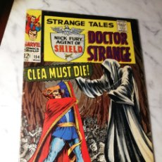 Cómics: STRANGE TALES 154 MARVEL COMICS USA STERANKO 1967. Lote 186342395