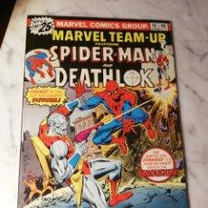 Cómics: MARVEL TEAM UP 46 SPIDERMAN DEATHLOK EN EXCELENTE ESTADO MARVEL COMICS USA 1976. Lote 186345627