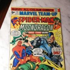 Cómics: MARVEL TEAM UP 44 SPIDERMAN DRAGÓN LUNAR EXCELENTE ESTADO 1976. Lote 186346407