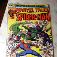 Cómics: MARVEL TALES 118 SPIDERMAN MISTERIO MARVEL COMICS USA 1980. Lote 186350503