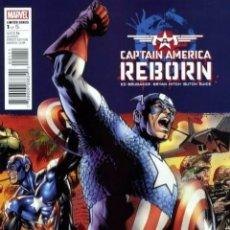 Cómics: CAPTAIN AMERICA REBORN MINISERIE COMPLETA 6 NÚMEROS. Lote 186365602