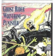 Comics: GHOST RIDER WOLVERINE PUNISHER HEARTS OF DARKNESS 1 BLACK HEART MEPHISTO MARVEL. Lote 186376455