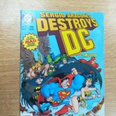 Comics: SERGIO ARAGONES DESTRYOS DC (1996). Lote 187242955