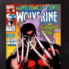 Cómics: MARVEL COMICS PRESENTS 113 - 1992 VFN+ / WOLVERINE / GHOST RIDER & IRON FIST / GIANT MAN. Lote 187316943