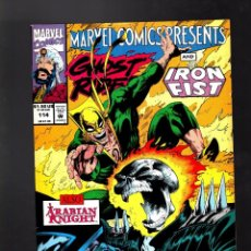 Cómics: MARVEL COMICS PRESENTS 114 - 1992 VFN+ / WOLVERINE / GHOST RIDER & IRON FIST / GIANT MAN. Lote 187317048
