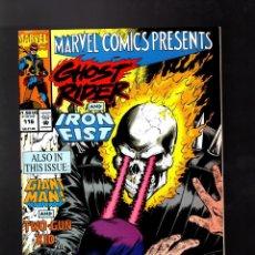 Cómics: MARVEL COMICS PRESENTS 116 - 1992 VFN- / WOLVERINE / GHOST RIDER & IRON FIST / GIANT MAN . Lote 187317325