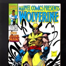 Cómics: MARVEL COMICS PRESENTS 118 - 1992 VFN / WOLVERINE & VENOM / GHOST RIDER & IRON FIST / GIANT MAN . Lote 187317563