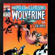 Cómics: MARVEL COMICS PRESENTS 120 1993 VFN WOLVERINE & VENOM / GHOST RIDER & CLOAK AND DAGGER / SPIDER-MAN. Lote 187317702