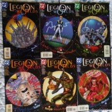 Cómics: LEGIOS WORLDS COL. COMPLETA, DC COMICS 2001. Lote 187323050