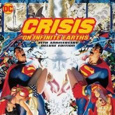 Cómics: CRISIS ON INFINITE EARTHS: 35TH ANNIVERSARY DELUXE EDITION - MARV WOLFMAN & GEORGE PEREZ. Lote 187514932