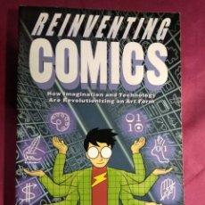 Cómics: REINVENTING COMICS. SCOTT MCCLOUD. DC COMICS. EN INGLES. Lote 188523967