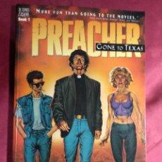 Cómics: PREACHER. GONE TO TEXAS. GARTH ENNIS. STEVE DILLON. VERTIGO. DC COMICS.. EN INGLES. Lote 188524872